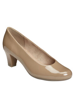 Shore Thing Pumps by Aerosoles®, LIGHT TAN PATENT, hi-res
