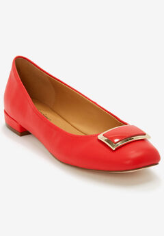 The Delilah Pump by Comfortview®, NEW HOT RED