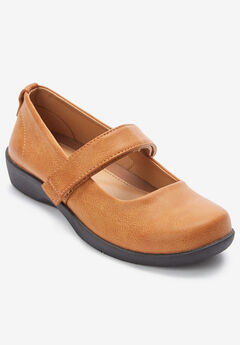 The Carla Mary Jane Flat by Comfortview®,