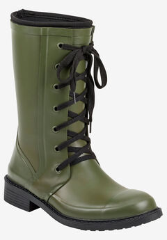 Vernon Rainboot by Aerosoles Platinum,