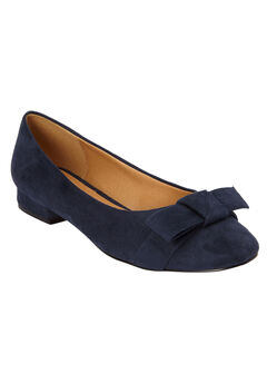 The Francine Pump by Comfortview®, NAVY