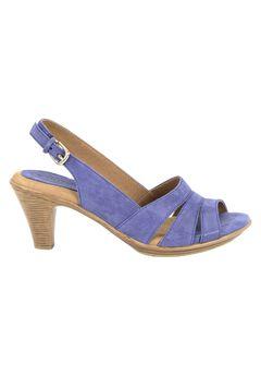 Neima Leather Sling Back Pump by Softspots®, COBALT BLUE, hi-res