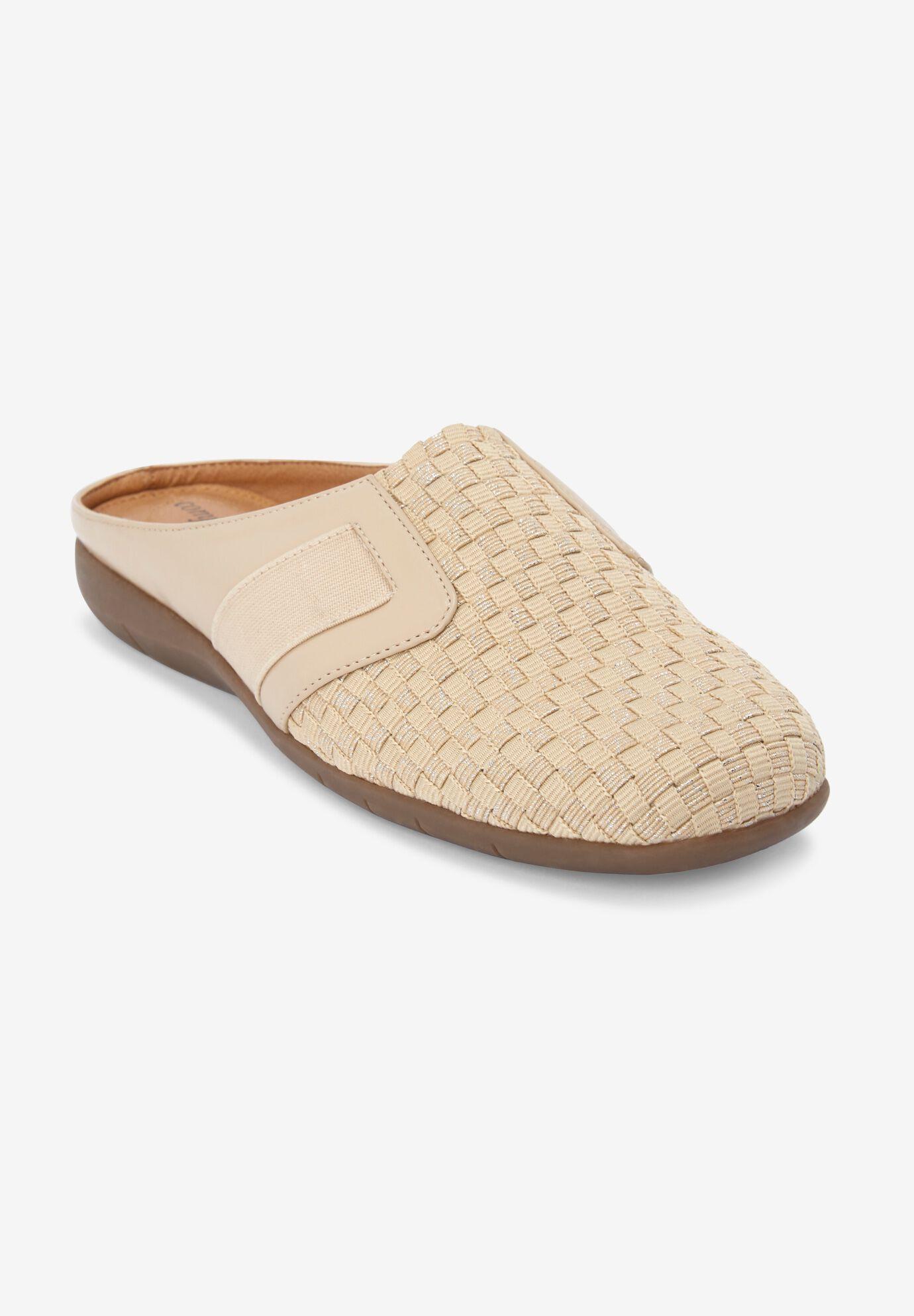 Wide Width Slides \u0026 Mules for Women