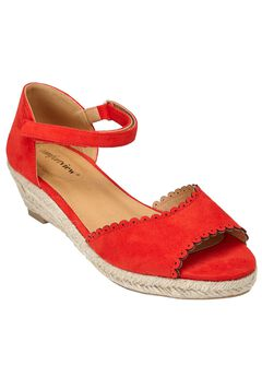 Charlie Espadrilles by Comfortview®, NEW HOT RED