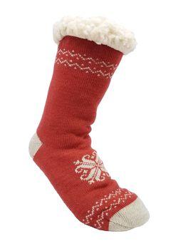Heart Snowflake Slipper Sock Slipper Socks,