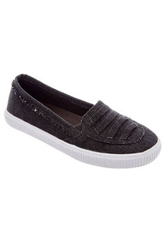 Analia Slip-Ons by Comfortview®, BLACK, hi-res