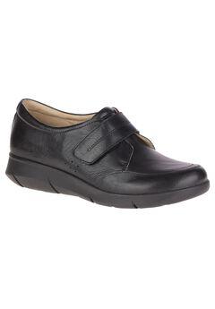 Believe Mardie Sneakers by Hush Puppies®, BLACK LEATHER, hi-res
