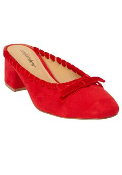 The Greer Mule by Comfortview®, BRIGHT RUBY, hi-res