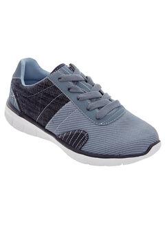 Kimi Sneakers by Comfortview®, DENIM, hi-res