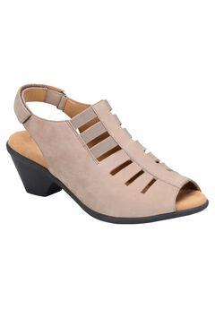 Faye Peep Toe Slingback by Comfortiva ,