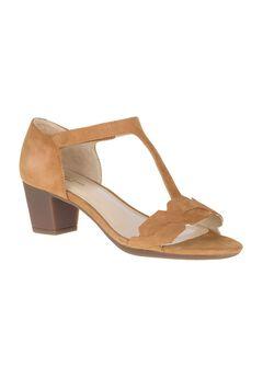 Masseter T-Strap Sandals by Hush Puppies®,