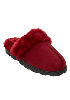 The Ellen Slipper by Comfortview®, RICH BURGUNDY