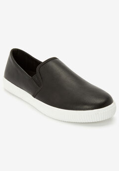 The Dagny Sneaker by Comfortview®, BLACK