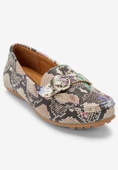 The Zara Driver by Comfortview®, FLORAL SNAKE PRINT