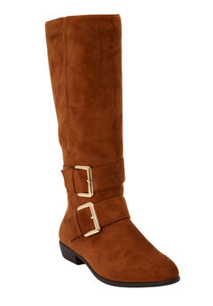 The Stina Wide Calf Boot by Comfortview®,