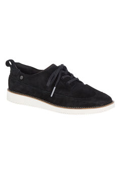Chowchow WT Oxford Shoes by Hush Puppies®, BLACK SUEDE, hi-res