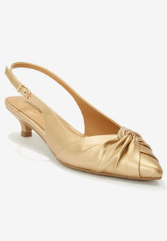 The Eden Slingback by Comfortview®, GOLD