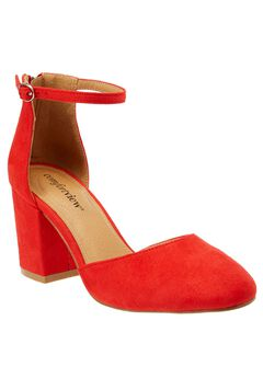 Mandy Pumps by Comfortview®, NEW HOT RED, hi-res