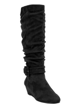 Bodhi Tall Calf Boots by Comfortview,