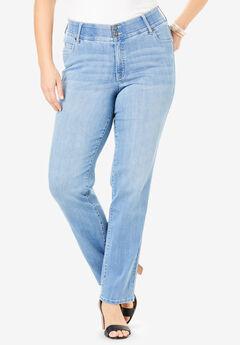 The Straight-Leg Curvy Jean by Denim 24/7®,