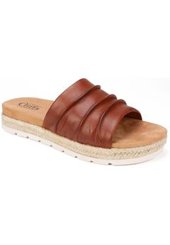 Torri Leather Sandal by Cliffs,