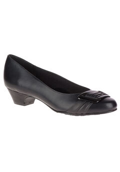 Pleats Be With You Pumps by Soft Style, BLACK, hi-res