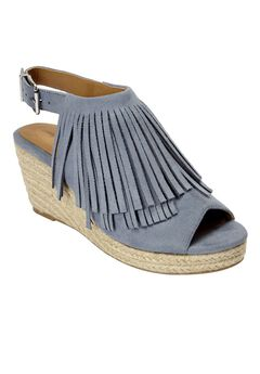 Diane Espadrille Sandals by Comfortview®, CHAMBRAY, hi-res