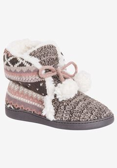 Lulu Slipper Bootie by Muk Luks,