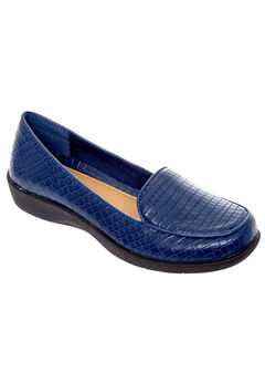 The Jemma Flat by Comfortview®, NAVY