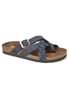 Harrington Leather Sandal by White Mountain,