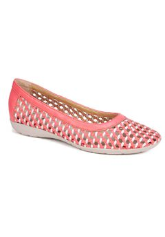 Faylie Soft Leather Flat by Cliffs,