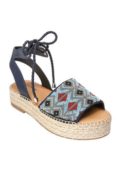 Ashlyn Sandals by Comfortview®, BLUE MULTI, hi-res