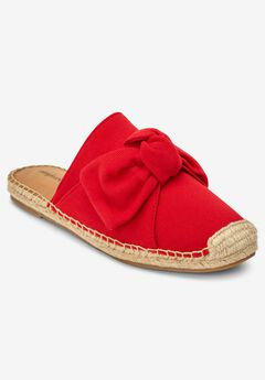 The Adri Espadrille Mule by Comfortview®,