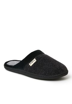 Samantha Chenille Clog with Quilted Sock by Dearfoams,