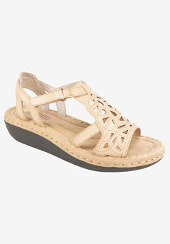 Chambray Sandal by Cliffs by White Mountain,