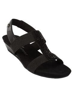 Idolize Sandals by Anne Klein®, BLACK