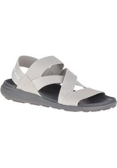 Labsky Elastic Sandals by Hush Puppies®, COOL GREY TEXTILE, hi-res