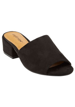 Basha Mules by Comfortview®, BLACK, hi-res