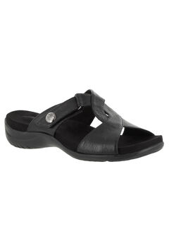 Spark Sandal by Easy Street®, BLACK, hi-res