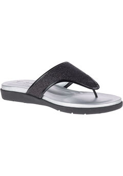 Loralei Sandals by Soft Style®, BLACK GLITTER, hi-res