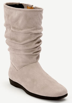 The Aneela Wide Calf Boot ,