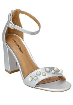 Roxy Sandals by Comfortview®, SILVER, hi-res