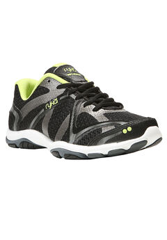 Influence Sneakers by Ryka®, BLACK GREEN, hi-res