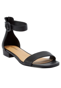 Alora Sandals by Comfortview®, BLACK, hi-res