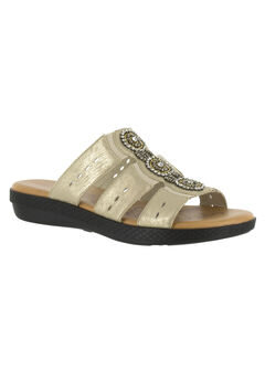 Nori Sandals by Easy Street®, SOFT GOLD