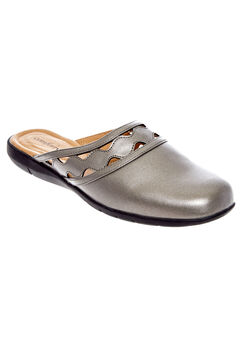 McKenna Mules by Comfortview®, PEWTER, hi-res