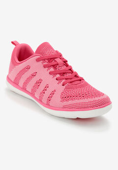 The Melanie Sneaker by Comfortview®, BRIGHT PINK
