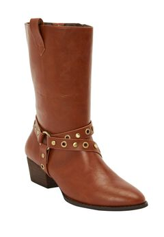 The Gabriella Wide Calf Boot by Comfortview®,