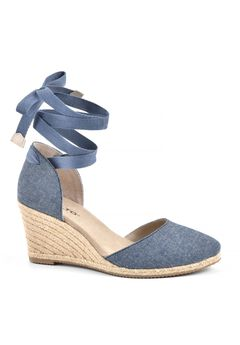 Coachella Espadrille Wedge by Rialto,
