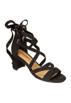 Rosana Sandals by Comfortview®, BLACK, hi-res